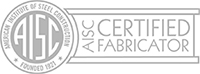 AISC Certified Fabricator Logo