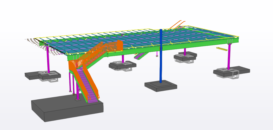 CoBuilt Steel Structure in Design Development
